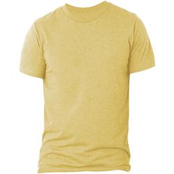 textil Herre Polo-t-shirts m. korte ærmer Bella + Canvas CA3413 Peach Triblend