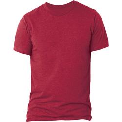 textil Herre T-shirts m. korte ærmer Bella + Canvas CA3413 Solid Red Triblend