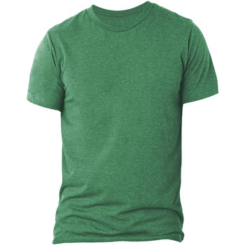 textil Herre T-shirts m. korte ærmer Bella + Canvas CA3413 Green Triblend