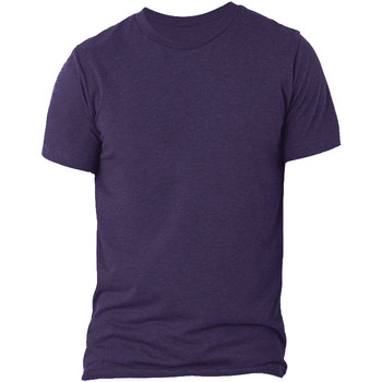 textil Herre T-shirts m. korte ærmer Bella + Canvas CA3413 Purple Triblend