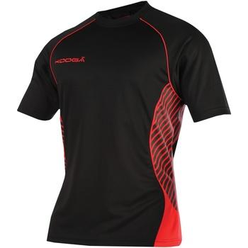 textil Dame T-shirts m. korte ærmer Kooga K108B Black/Red