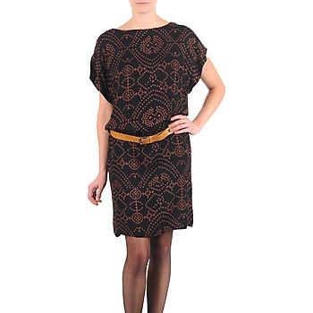 textil Dame Korte kjoler Antik Batik QUINN Sort