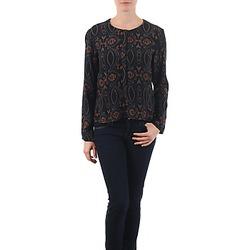 textil Dame Toppe / Bluser Antik Batik VEE Sort
