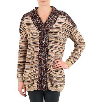 textil Dame Veste / Cardigans Antik Batik WAYNE BEIGE