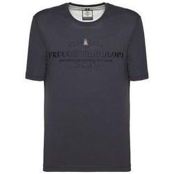 textil Herre T-shirts m. korte ærmer Aeronautica Militare TS1784 Flåde