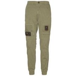 textil Herre Cargo bukser Aeronautica Militare 201PF743J21707 Oliven