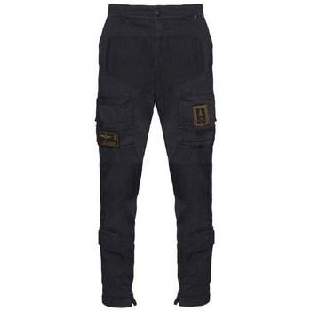 textil Herre Cargo bukser Aeronautica Militare PA1387CT149308 Sort