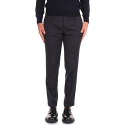 textil Herre Chinos / Gulerodsbukser Incotex ZR450Z 10139 Grey