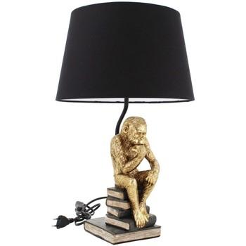 Indretning Bordlamper Signes Grimalt Lampe Med Abe Figur Dorado