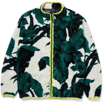 textil Herre Sweatshirts Huf Sweat sativa floral fz sherpa Beige