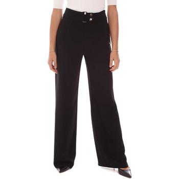 textil Dame Løstsiddende bukser / Haremsbukser Gaudi 121FD25014 Sort