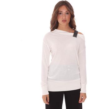 textil Dame Pullovere Gaudi 121FD53009 hvid