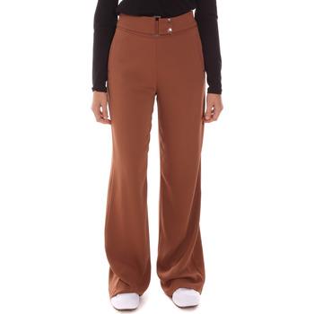 textil Dame Løstsiddende bukser / Haremsbukser Gaudi 121FD25014 Brun