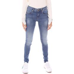 textil Dame Smalle jeans Gaudi 121BD26012L30 Blå