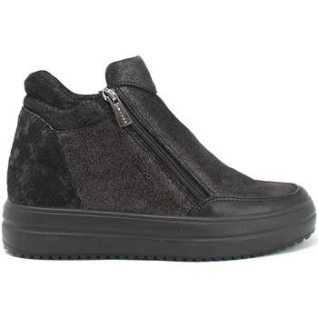 Sko Dame Høje sneakers IgI&CO 8158600 Sort