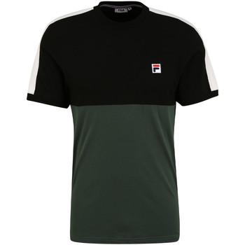 textil Herre T-shirts m. korte ærmer Fila 688985 Grøn