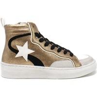 Sko Dame Høje sneakers Gold&gold B21 GB159 Brun