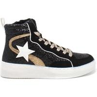 Sko Dame Høje sneakers Gold&gold B21 GB159 Sort
