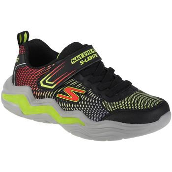 Sko Dreng Lave sneakers Skechers Erupters IV Sort