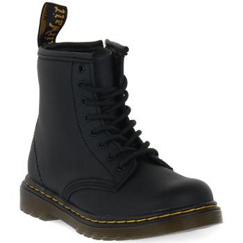 Sko Børn Støvler Dr Martens 1460 BLACK SOFTY T Nero