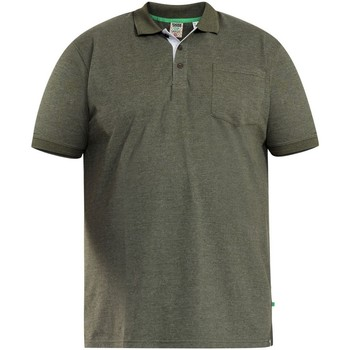 textil Herre Polo-t-shirts m. korte ærmer Duke  Khaki