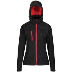textil Dame Jakker Regatta RG636 Black/Classic Red