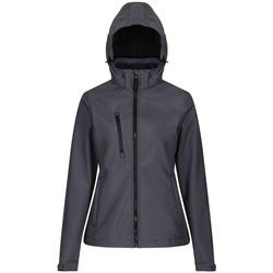 textil Dame Vindjakker Regatta RG636 Seal Grey/Black