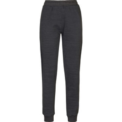 textil Dame Træningsbukser Kappa Pantalon femme  savonata noir/gris foncé