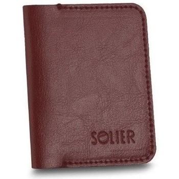 Tasker Herre Tegnebøger Solier SW16BROWNMAROON23262 Bordeaux