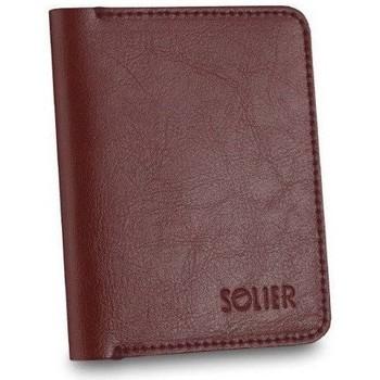 Tasker Herre Tegnebøger Solier SW10BROWNMAROON23258 Bordeaux