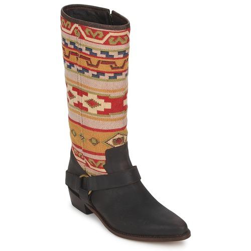 Sko Dame Chikke støvler Sancho Boots CROSTA TIBUR GAVA Brun-rød