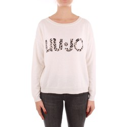 textil Dame Pullovere Liu Jo WF1496MA14G WHITE