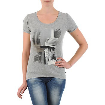 textil Dame T-shirts m. korte ærmer School Rag TORI Grå