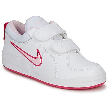 Sko Pige Lave sneakers Nike PICO 4 PSV Hvid / Pink