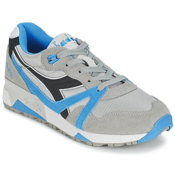 Sko Lave sneakers Diadora N9000  NYL Grå / Blå / Sort
