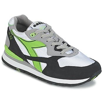 Sko Lave sneakers Diadora N-92 Hvid / Sort / Grøn