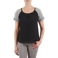 textil Dame T-shirts m. korte ærmer Lollipops PADELINE TOP Sort / Grå