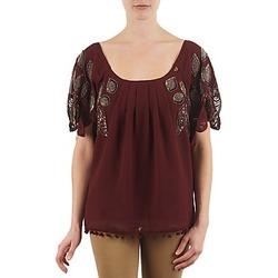 textil Dame T-shirts m. korte ærmer Lollipops POCAHONTAS TOP Bordeaux