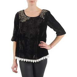 textil Dame Langærmede T-shirts Lollipops PILOW TOP Sort