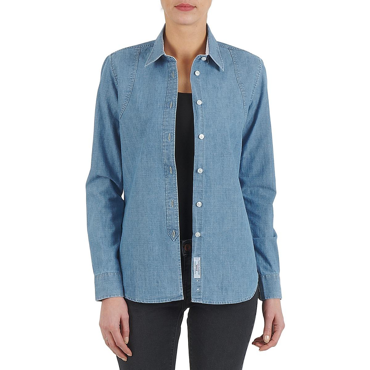 Skjorter / Skjortebluser Kulte  CHEMISE CIRCUIT 101826 BLEACH