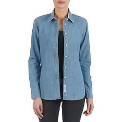 textil Dame Skjorter / Skjortebluser Kulte CHEMISE CIRCUIT 101826 BLEACH Blå
