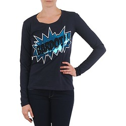 textil Dame Langærmede T-shirts Brigitte Bardot BB43130 Blå