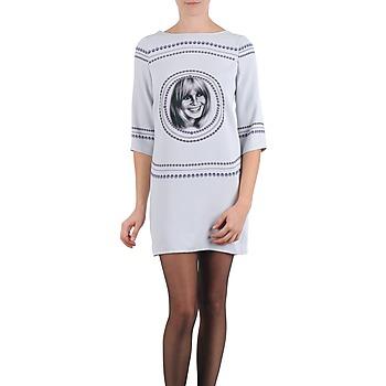 textil Dame Korte kjoler Brigitte Bardot BB43121 Grå