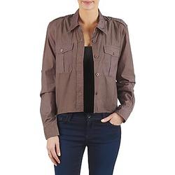 textil Dame Skjorter / Skjortebluser Brigitte Bardot BB43077 Brun