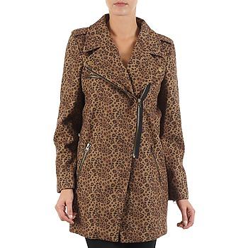 textil Dame Frakker Brigitte Bardot BB43110 Brun / Leopard