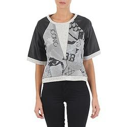 textil Dame Sweatshirts Brigitte Bardot BB43025 Grå