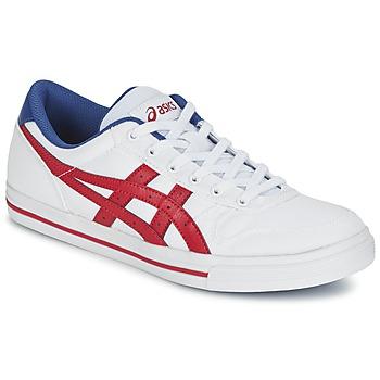 Sko Lave sneakers Asics AARON Hvid / Rød