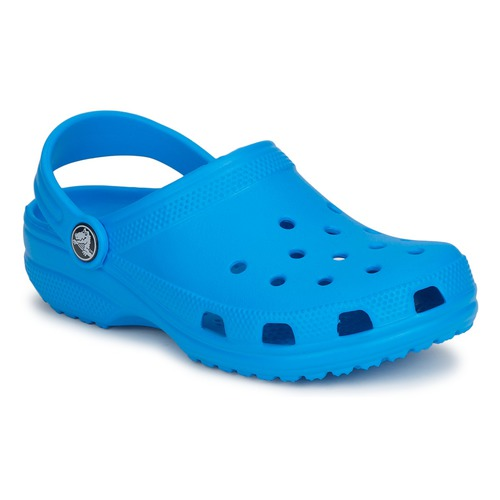 Sko Børn Træsko Crocs CLASSIC CLOG KIDS Blå