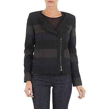 textil Dame Jakker / Blazere Lola VIE DUP Sort / Grå