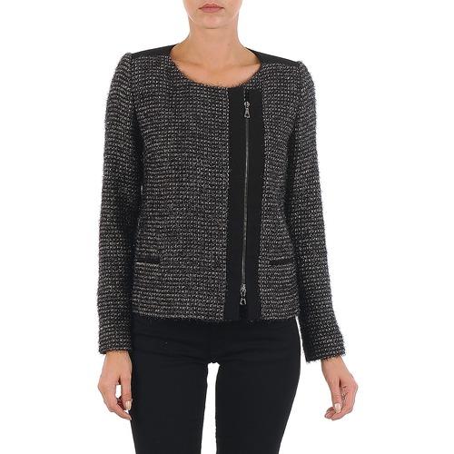 textil Dame Jakker / Blazere Lola VIE LUREX Sort / Beige